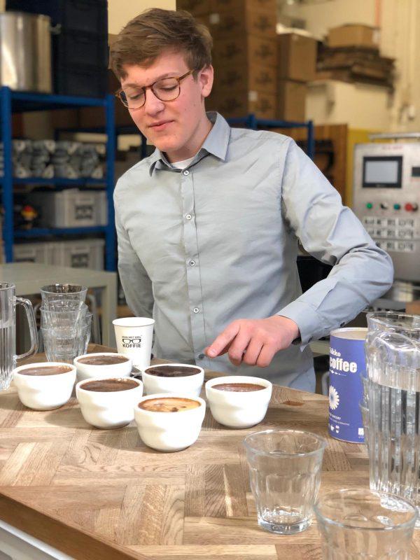 Beau Meijer - Koffie workshop