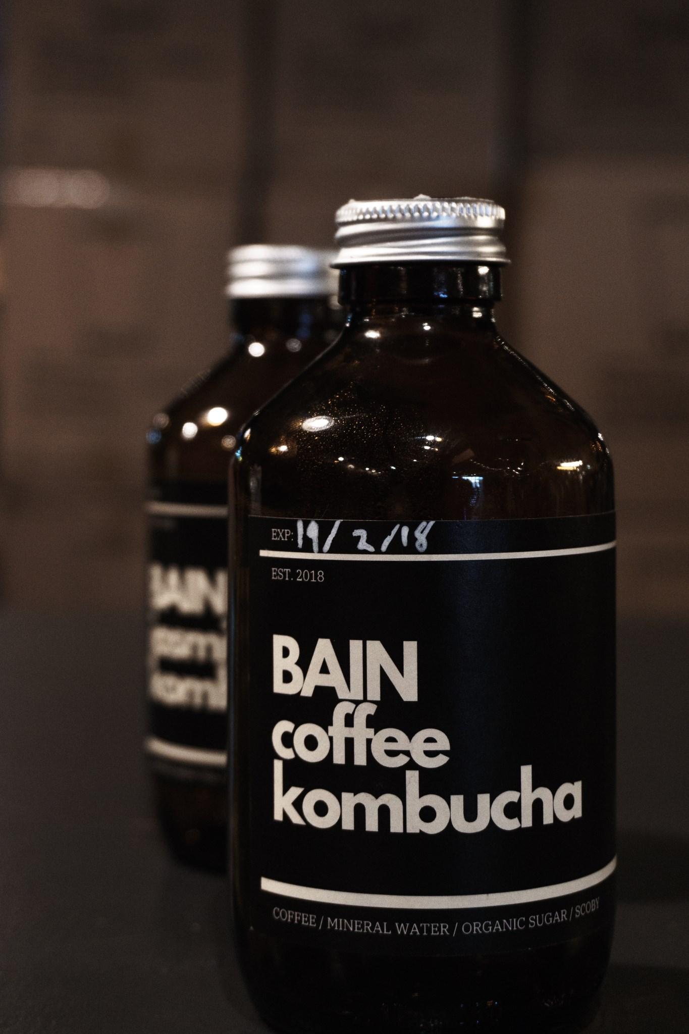 BAIN koffie kombuch